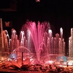 Wonderful light, music and fountain show
