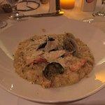 Wonderful tasting seafood riosotto