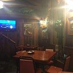 Nice semi private area of restaurant.