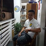 One of the staffs. Very attentive and helpful kuya Chris/Kris.