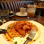 Order the chicken and waffles. Just do it.