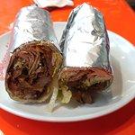 Spicy donner kebab