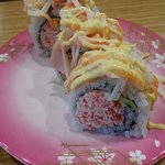 Double-Crab Roll - YUM!