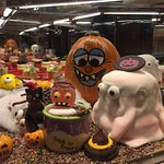 The stunning Halloween Food display