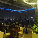 Roof Deck which is Overlooking on Metro Manila Skyline and Rizal Mountains.