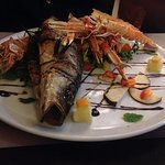 Seafood platter