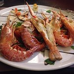 Shrimp and lobster platter