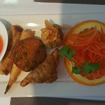 Mixed Entree - Sala Thai Restaurant Tugun