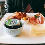 Standaard ontbijt bij Bistro Ohana! Super lekker!!