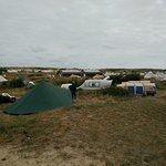 Vista area campeggio