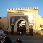 Porte Boujloud à 200 m entrée de la médina