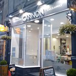 Cannon fish & chip cafe Berwick on Tweed