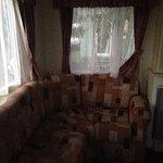 The lounge L shaped sofa