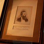 Herman Melville portrait and signature.