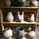 traditionally pottery