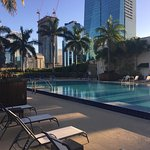 2 bedroom room!! Best view of Miami. Pool area. Living room.