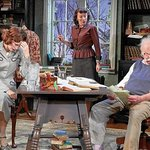 the current play, Relativity by Mark St.Germain, starring Richard Drefuss, Lori Wilner