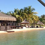 Amazingly beautiful, remote location. A relaxing getaway w/ extra activities; snorkeling, sunset
