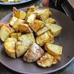 Side of roasted potatoes