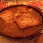 Entrée soupe de poissons