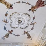 19thC painted ceiling