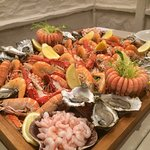 Our seafood extravaganza at La Barbarie hotel!