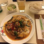 Very good panang chicken