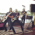The Concussions 2016 Show before the rain storm.