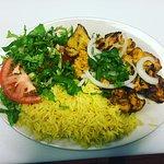 Boti Kabab Plate
