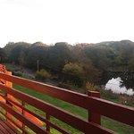 Autumn sunshine over the loch