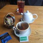 Hot tea. You pick which tea you would like