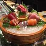 Fantastic sashimi plate