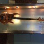 Timothy B Schmit guitar, Hard Rock Hotel lobby