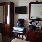 Room 394 - wardrobe and desk