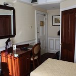 Room 394 - entry and bathroom door