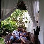 Hospedagem aconchegante com ambiente romântico