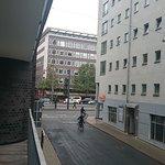 Ausblick zur Hauptstraße ins Zentrum