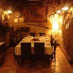 Jantar privado numa das salas