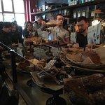 At the order bar