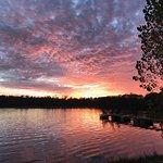 Sunset @ delta Lodge