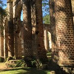 Old Sheldon Church Ruins Foto