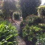 Beautiful gardens, warm nooks.. Really pretty.