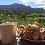 Eso es un desayuno con paisaje