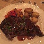 Ribeye steak... oh soooo good
