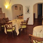 A small parat of the dining area.