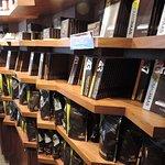 Chocolate selection. So many bars