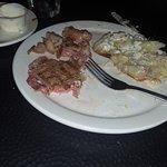 10 ounce Ribeye Steak dinner @ $22