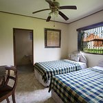 2 Single Beds with ensuite overlooking the rice fields.