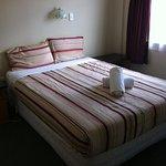 bedroom in standard 1 bedroom apartment