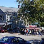 Red's Eats, on the main street of Wiscasset.